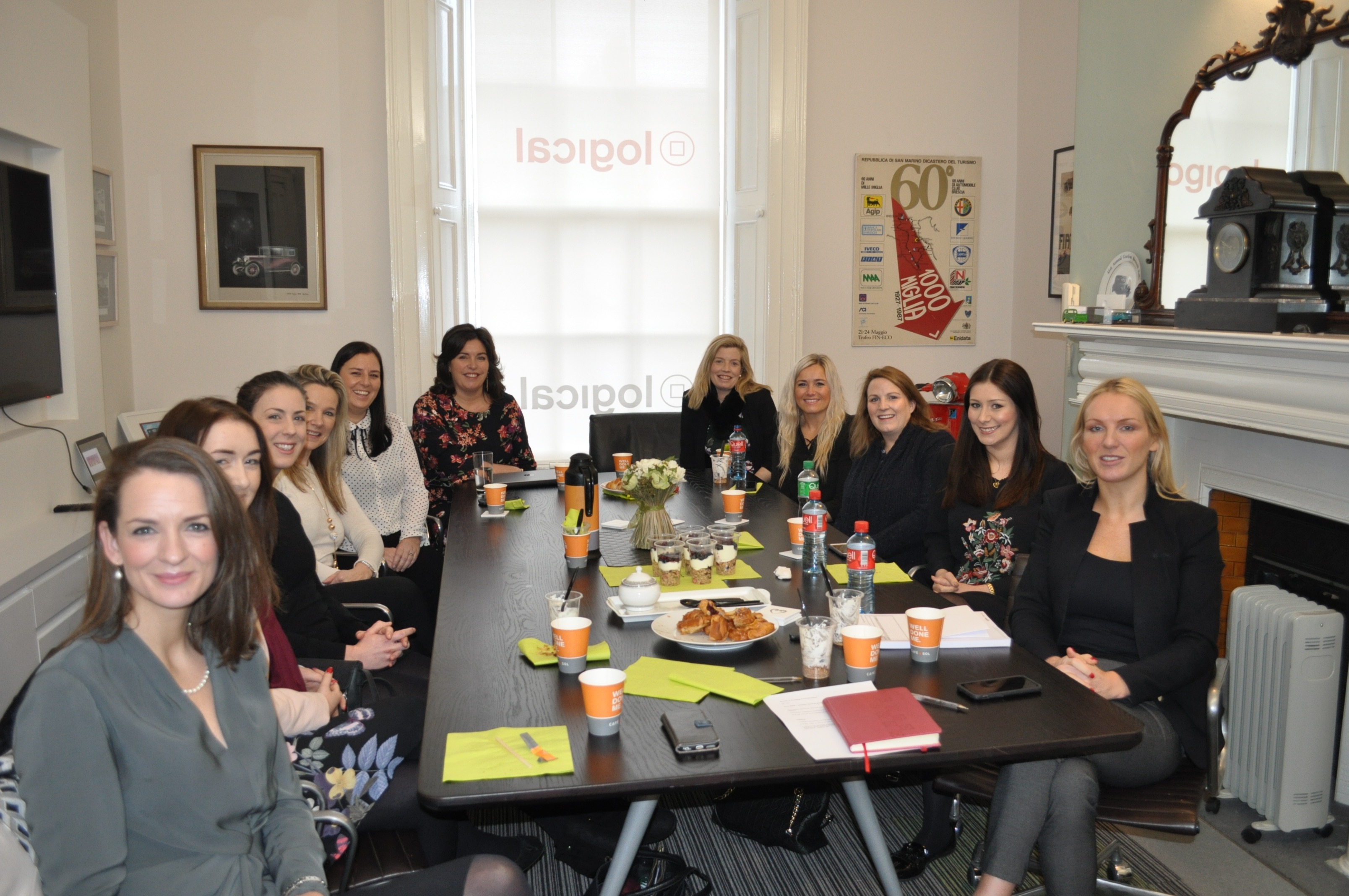 Logical Women In Property Breakfast with Aine Myler DG Society of Chartered Surveyors Ireland